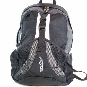 Jansport Backpack with Mesh Section & Pockets